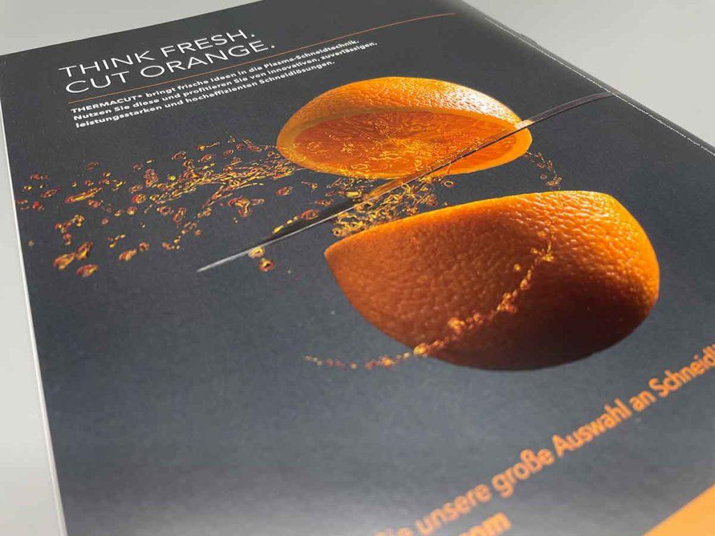 Drucksache: Marketingbroschüre DIN A4, 8 Seiten