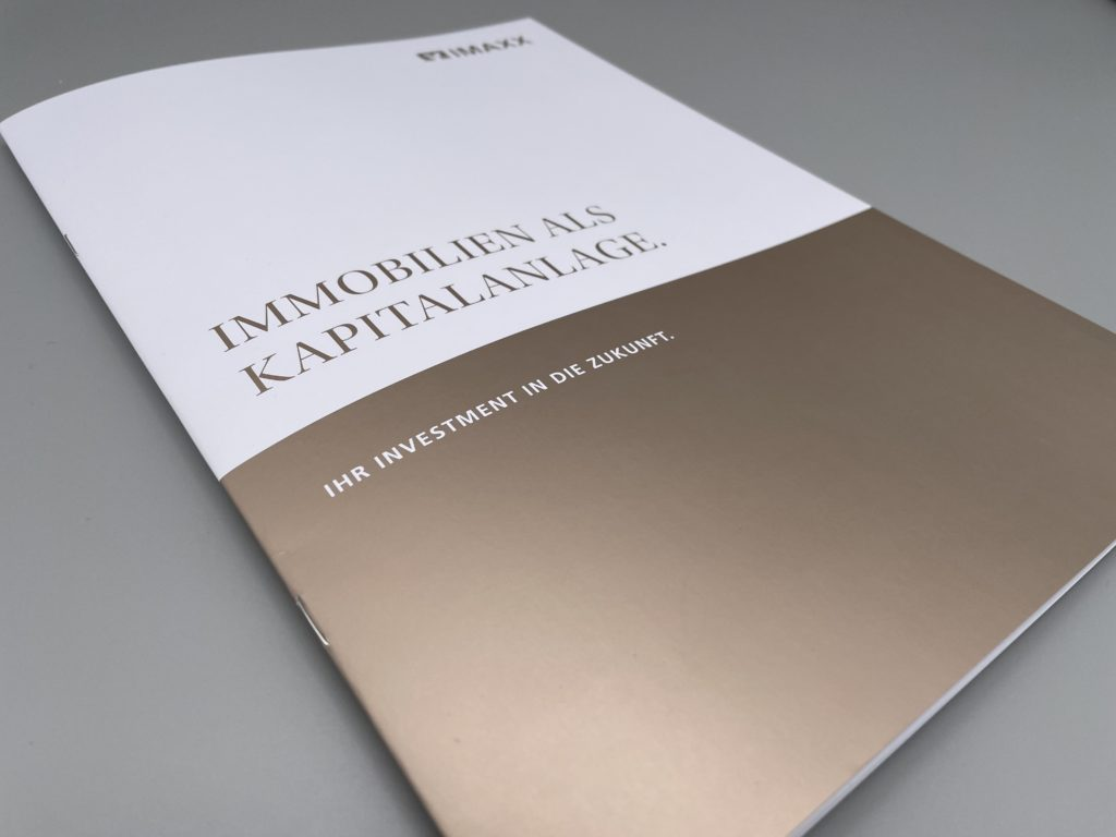 Drucksache: Werbebroschüre DIN A4, 16 Seiten