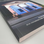 Katalog mit Klebebindung.